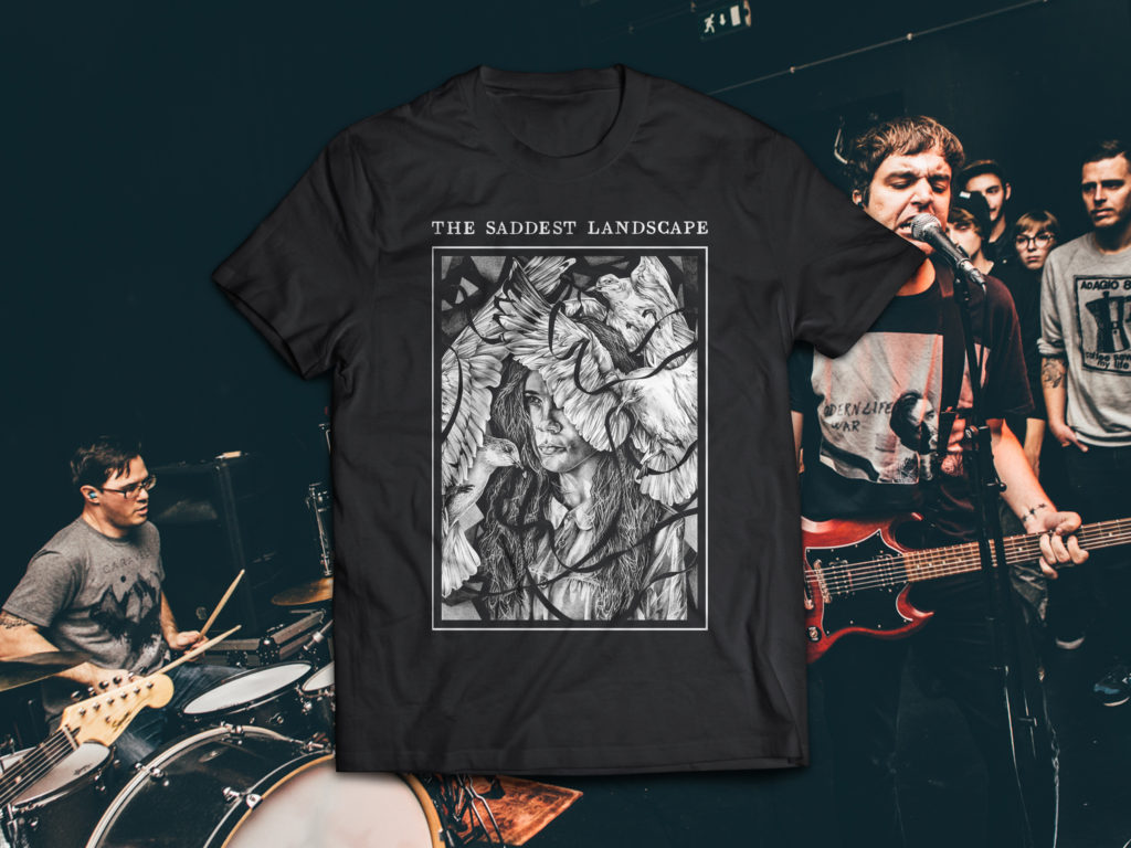 The Saddest Landscape Ties T Shirt 171 Flood Floorshows